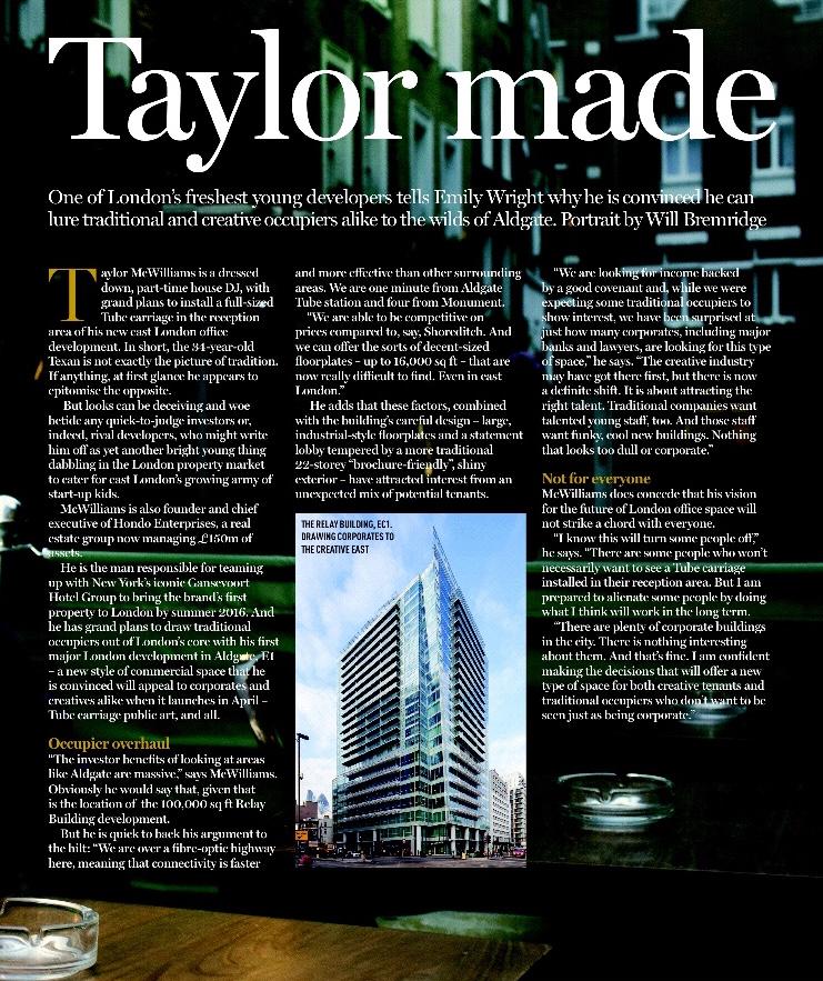 Estates Gazette, EG London Investor Guide, 2015
