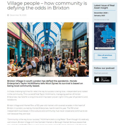 Village people – how community is defying the odds in Brixton